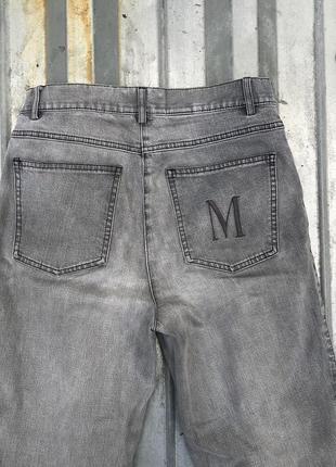 Серые джинсы средней плотности от madeleine
