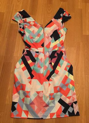 Платье с открытой спиной closet (zara mango asos)