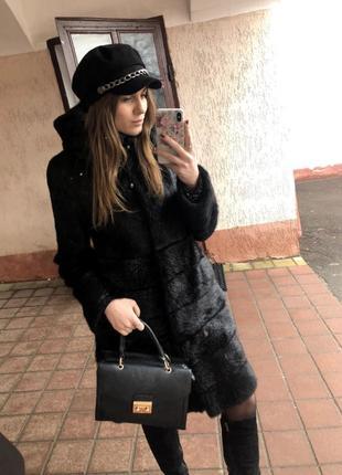 Шапка зимова кепка