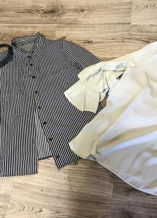 Набор рубашка и блуза