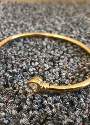 Женский винтажный браслет золотистий з камінчиками {оригинал, стильний, винтаж}