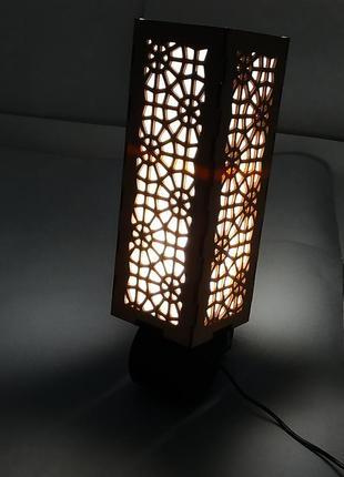 Светильник, ночник настенный дерево
