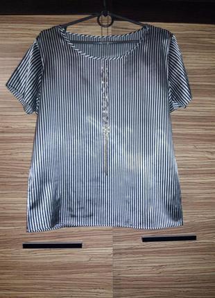 Полосатая блуза