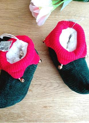 Акциоя!фемили лук! разные размеры ботинки помощника санты