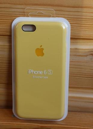 Чехол iphone 6, 6s silicone case айфон (стекло в подарок)