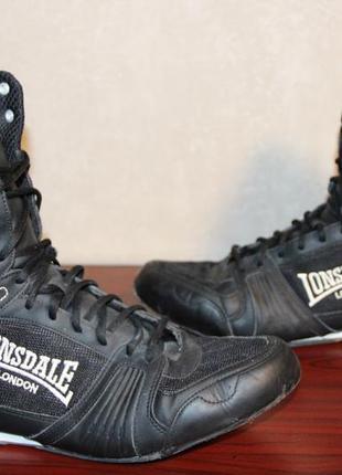 Боксерки lonsdale contender boxing boots mens