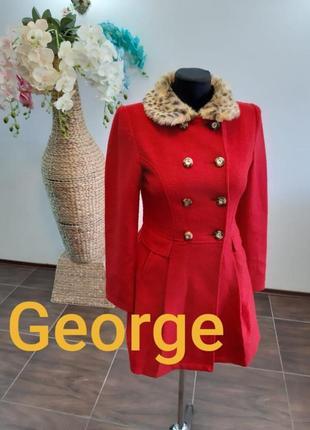 Пальто george на 12-13 лет рост 158