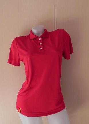 Спортивная футболка поло красная hickory outdoor