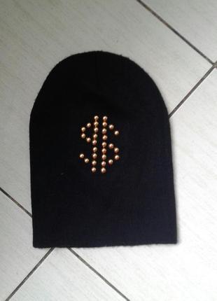 Двоййная шапочка