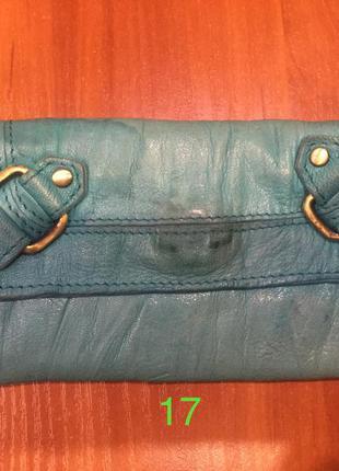 Кожаный кошелёк topshop