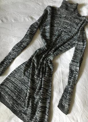 Платье гольф свитер