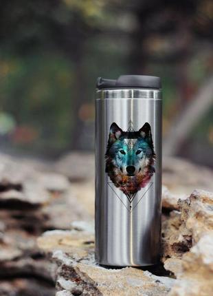 Термокружка волк