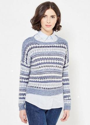 Свободный укороченный свитерок colin's размер s