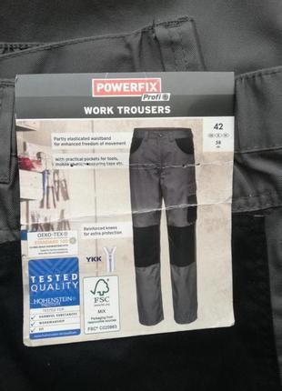 Мужские рабочие штаны от немецкого бренда powerfix большой размер