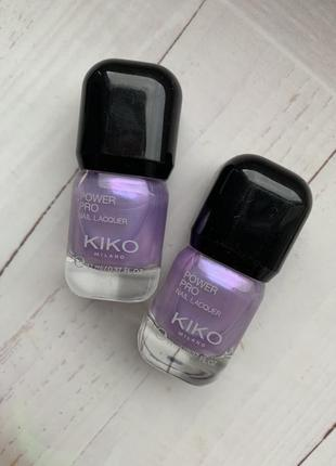 Стойкий лак для ногтей kiko milano