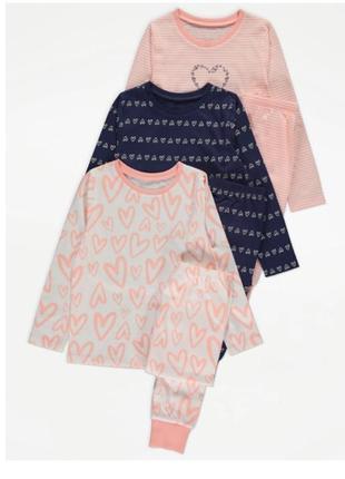 Пижама для девочки рр.122-128 george (джордж)