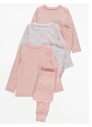 Пижама для девочки рр.92-98, 128-134 george джордж