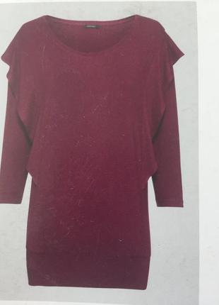 Стильная блузка,лонгслив с воланами esmara германия