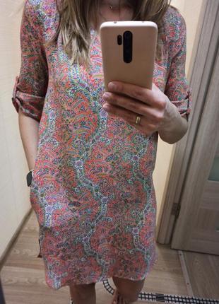 Платье , туника , легкое zara