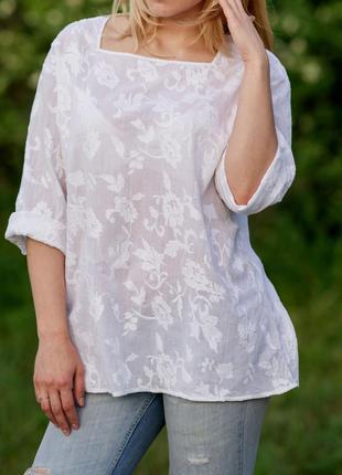 Блуза вышитый  батист