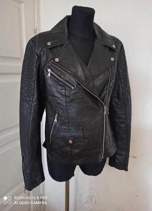 Кожаная куртка курточка  косуха