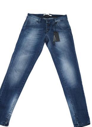 Итальянские джинсы klix тёмно-синие