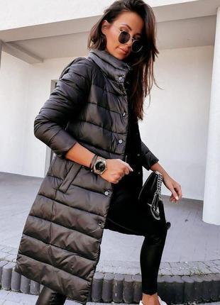 Стёганое пальто, куртка