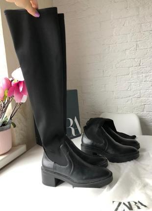 В продаже еще 2 дня ! ботинки zara ,деми , ботфорты 2020