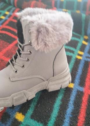 Ботинки женские, зимние тепленикие и комфортные.5 фото