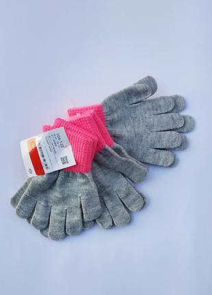Набор из 3 пар перчаток 104-122.