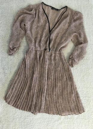 🕊 платье лёгкое, просвещающееся с цветочным принтом