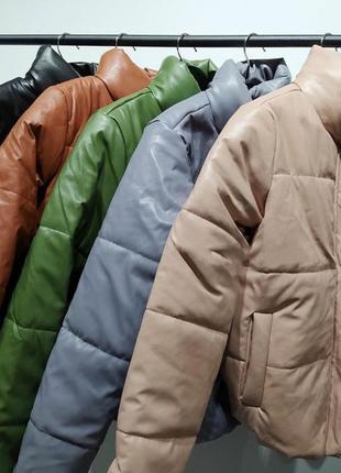 Куртка из эко кожи🤤