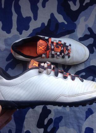 Кроссовки сороконожки adidas x размер 38 24 см