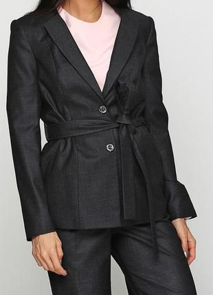 Пиджак женский, графитового цвета #sp8