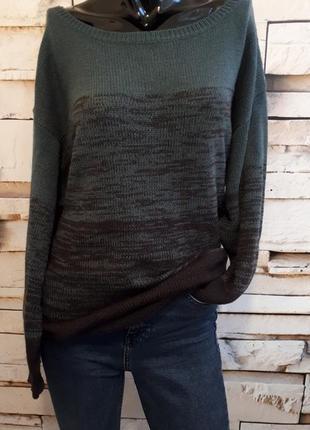 Удлиненный свитер- туника over size от h&m