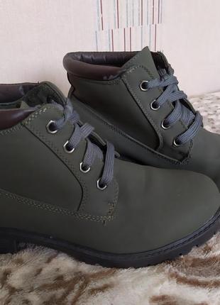 Женские ботинки 39-40 р