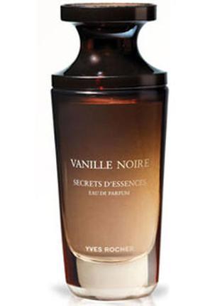 Парфюмированная вода черная ваниль 50мл vanille noire yves rocher ив роше