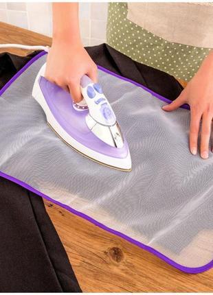 Сетка для глажки, защитный коврик антипригарный.