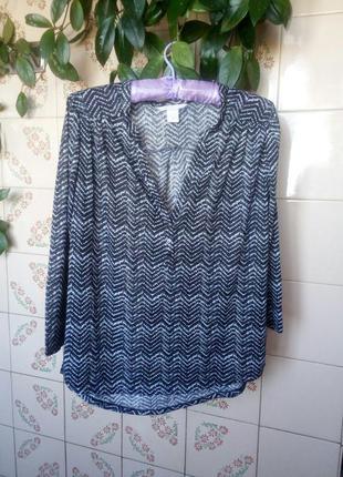 Стильная блуза h&m.