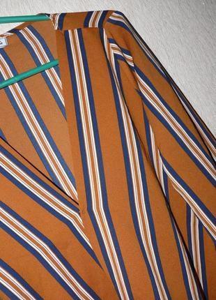 Актуальная блузка в полоску, на запах от pimkie3 фото