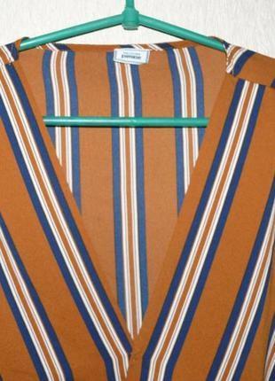 Актуальная блузка в полоску, на запах от pimkie4 фото