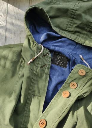Деми куртка с капюшоном zara