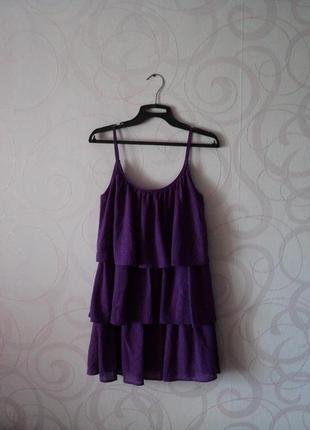 Сарафан-елочка, коктейльное платье, платье на выпускной, платье на лето, летний сарафан