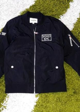 """Тепла демісезонна куртка """"kappahl"""", 146 розмір"""