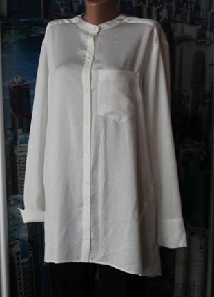 Новая блуза туника айвори интересная спинка