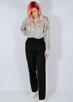 Классические женские брюки бананы, женские штаны, жіночі штани чорні