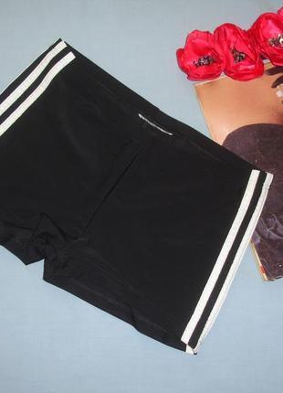 Низ от купальника плавки размер 46 / 12 черные спортивные шорты