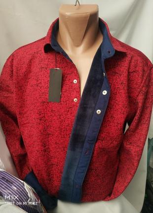 Рубашка на флисе.