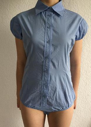 Рубашка-боді) розмір l)підійде і для s-m) дуже красивого кольору)