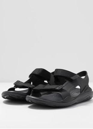 Босоножки, крокс сандалии   crocs   men´s swiftwater expedition sandal black / black ,